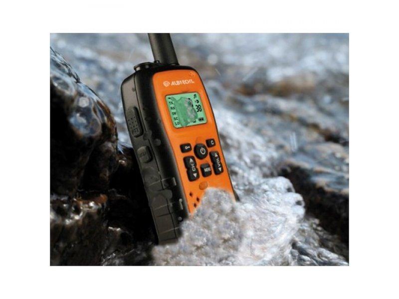Albrecht Tectalk Action Pro Αδιάβροχος ασύρματος πομποδέκτης PMR446 που επιπλέει στο νερό