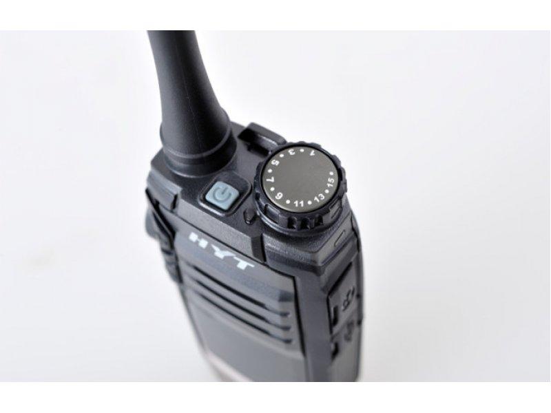 Hytera TC-320 Φορητός επαγγελματικός ασύρματος πομποδέκτης PMR446 με 16 κανάλια.