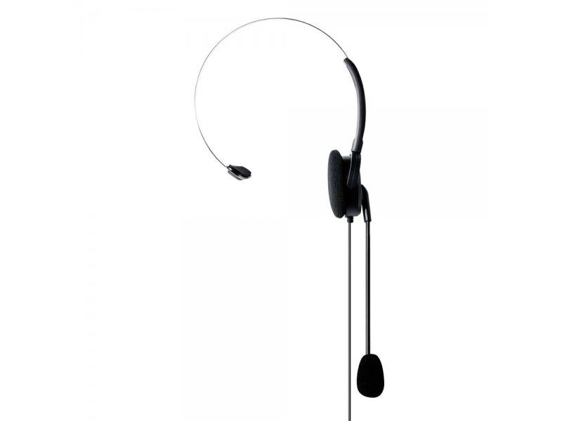 Midland MA35-L Ακουστικό με μικρόφωνο τύπου Boom σε ρυθμιζόμενο βραχίονα με βύσμα 2 Pin Midland