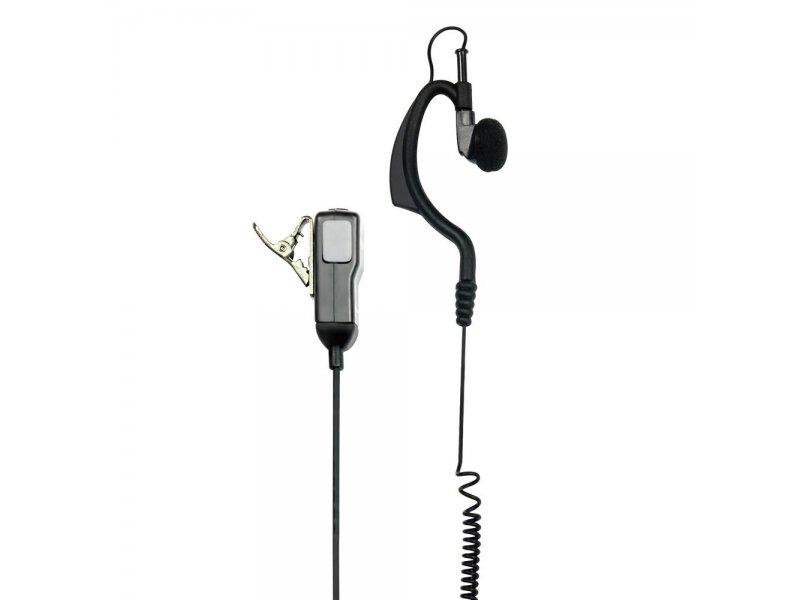 Midland MA-21M Μικροακουστικό Handsfree σιλικόνης με μικρόφωνο πέτου 1 Pin 2.5mm για Motorola