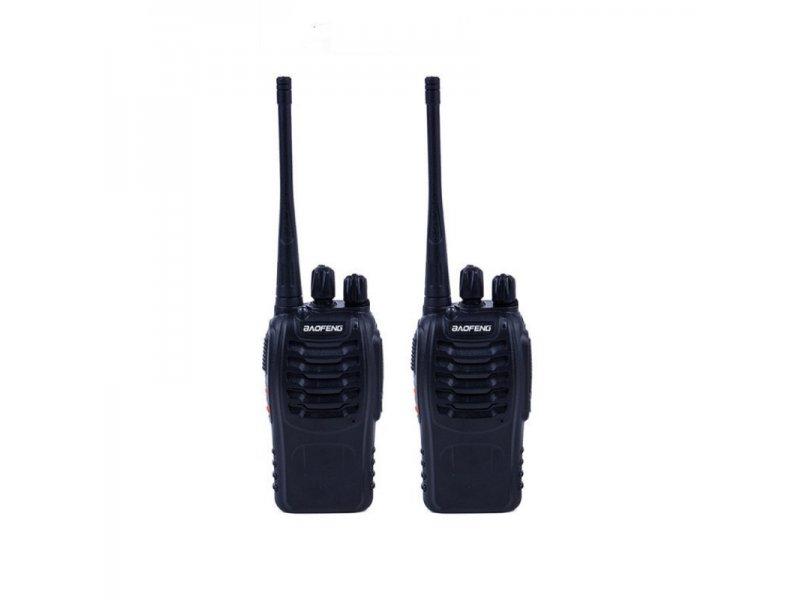 2 Τεμάχια Baofeng BF-888S Φορητοί ασύρματοι επαγγελματικοί ασύρματοι UHF για ερασιτεχνική η επαγγελματική χρήση