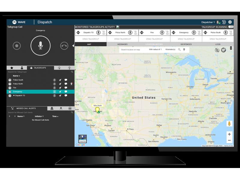Motorola WAVE PTX Dispatch (OnCloud)